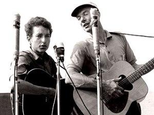 Pete Seeger & Bob Dylan